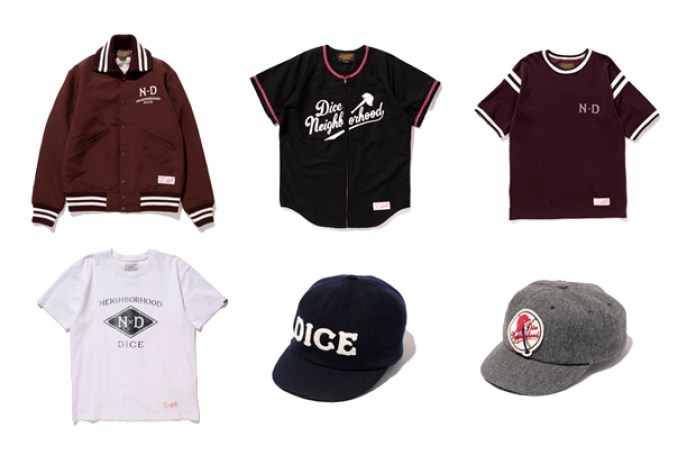 DicE Magazine × NEIGHBORHOOD Capsule Collection