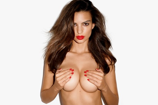 Emily Ratajkowski by Terry Richardson for GQ's 2013 November Issue