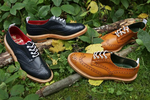Tricker's for End 2013 Fall/Winter Bourton Derby Brogue