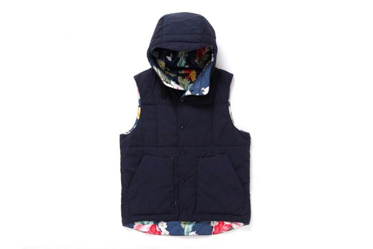 Engineered Garments 2013 Fall/Winter Hooded Padded Vest