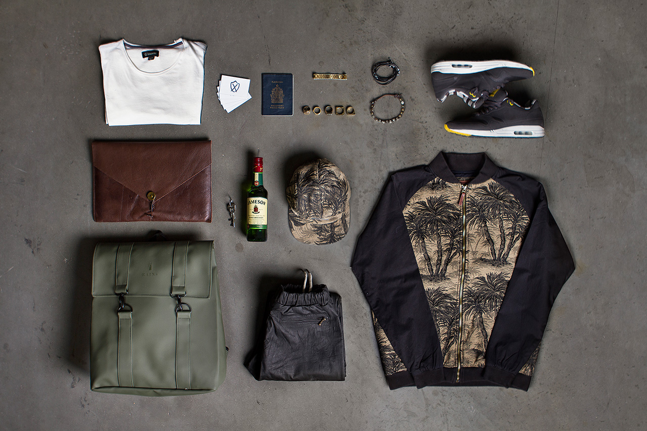 Essentials: Daniel Maynard of ZANEROBE