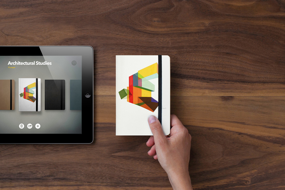 FiftyThree x Moleskine Brings Your iPad's Paper Creations to Life