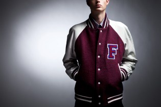 Fred Perry x Raf Simons 2013 Fall/Winter Varsity Jacket