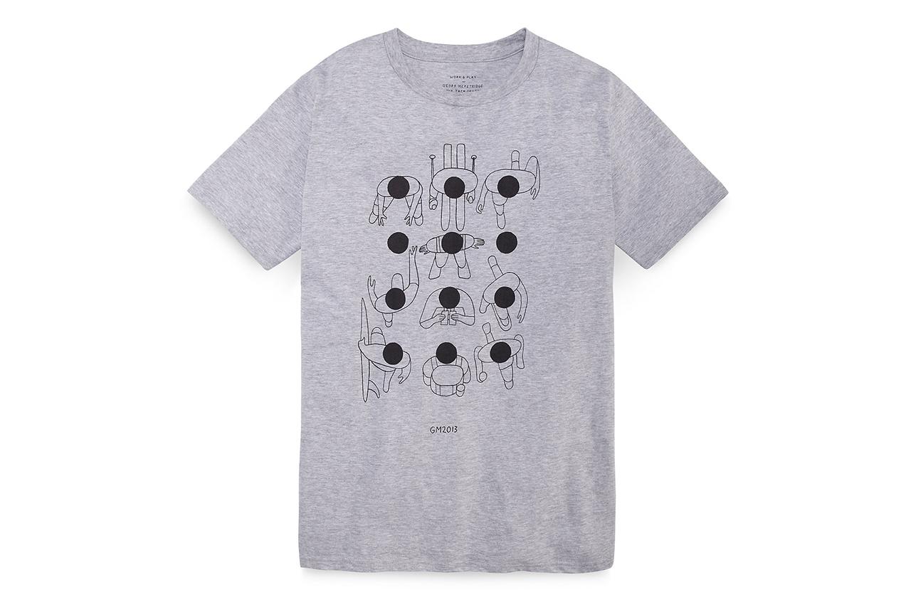 geoff mcfetridge for jack spade t shirts