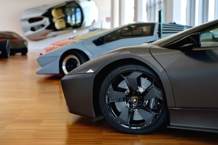 Get Inside the Museo Lamborghini with Google Maps