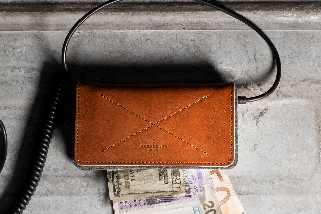 hard graft iPhone 5 Fold Wallet