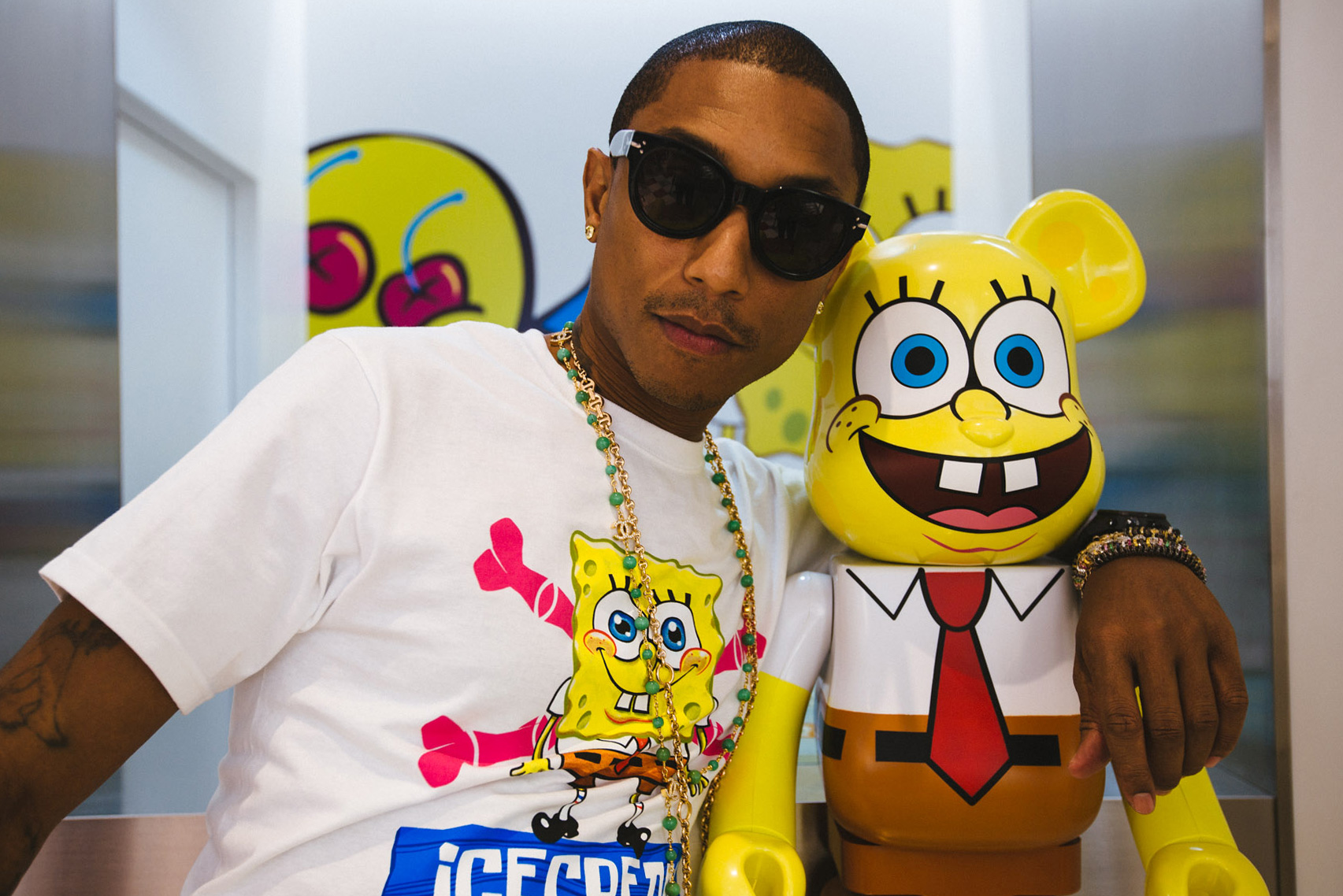 Pharrell Joins SpongeBob SquarePants for ICECREAM's 2013 Capsule Collection