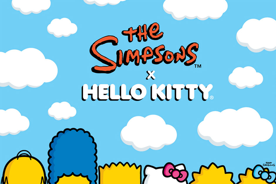 Hello Kitty x The Simpsons 2014 40th & 25th Anniversary Celebration Collaboration