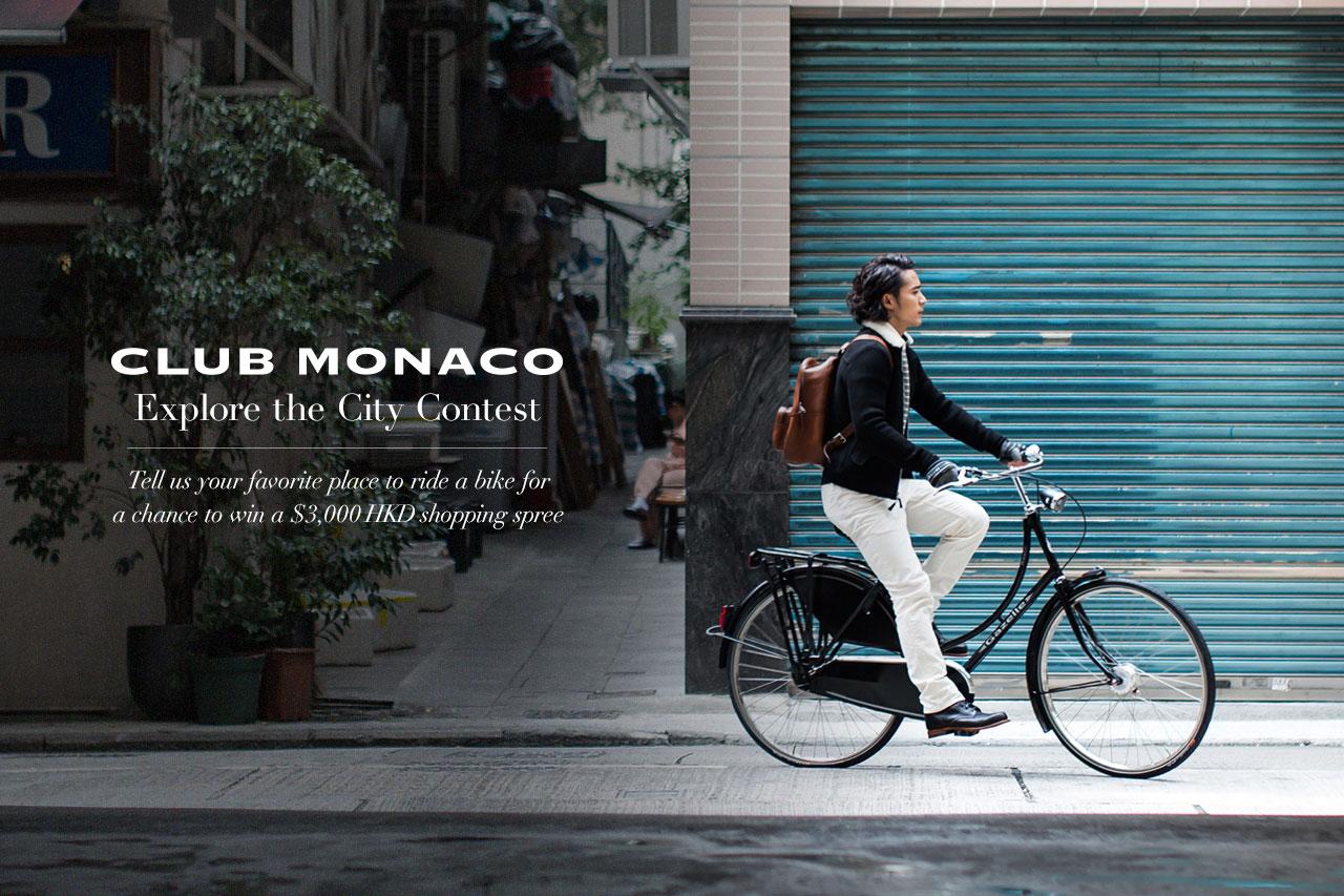 "Winner Announcement! Win a $3,000 HKD Shopping Spree with the Club Monaco ""Explore the City"" Contest"