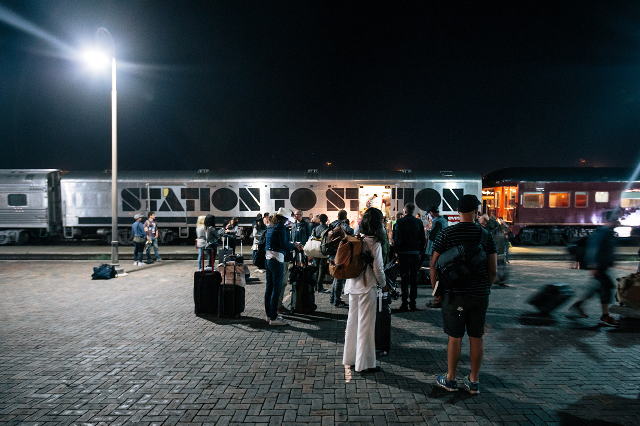 HYPEBEAST Spaces: Levi's® Station to Station Train