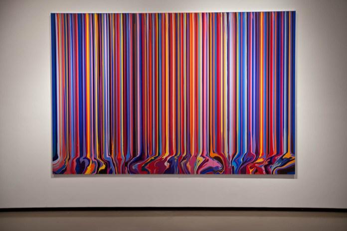 "Ian Davenport ""Colorfall"" Exhibition @ Paul Kasmin"