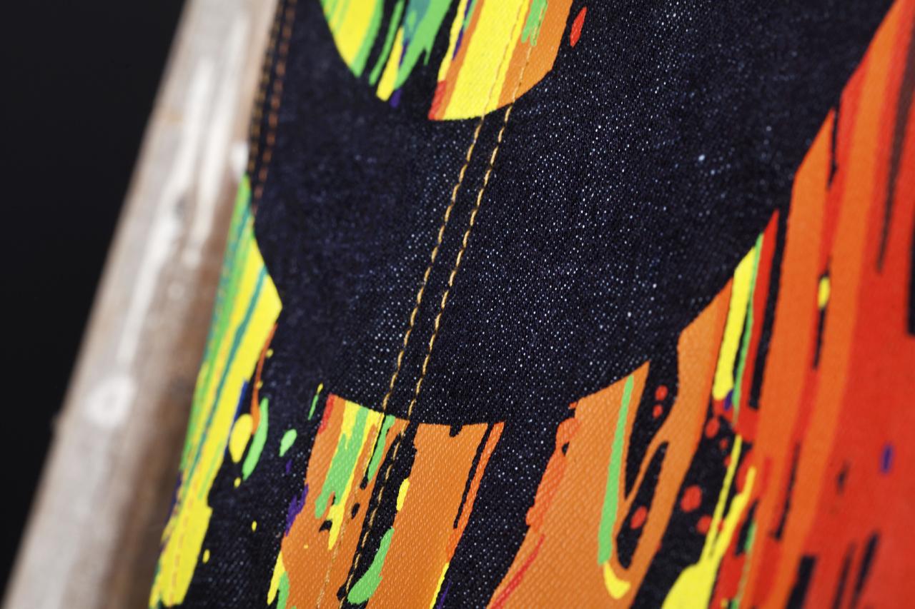 INSA x EVISU Daicock Raw Denim Jeans
