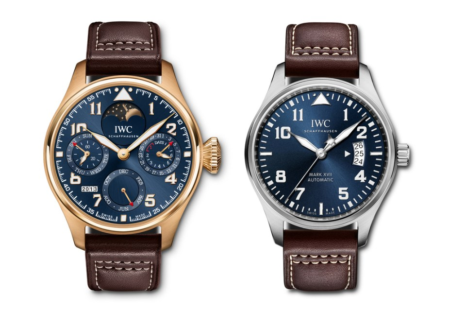 IWC Le Petit Prince 70th Anniversary Watch Collection ...