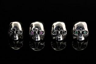 JAM HOME MADE × NUMBER (N)INE Skull Ring