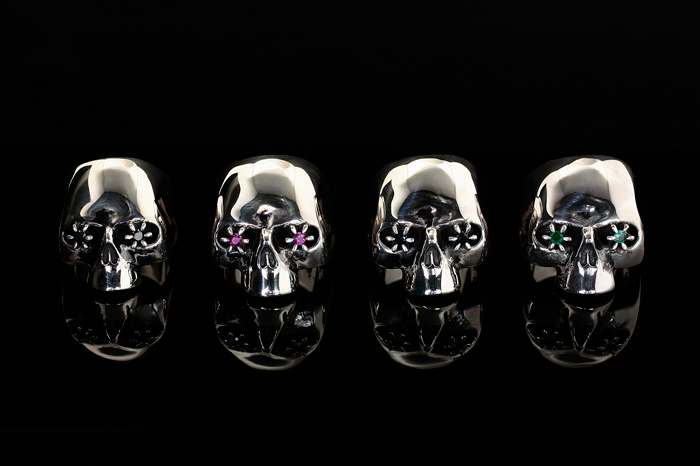 JAM HOME MADE × NUMBER (N)INE Skull Ring