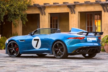 Jay Leno Highlights the 2014 Jaguar F-Type V8 S & Project 7 Concept