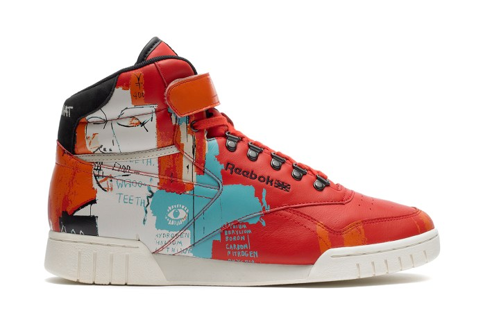 Jean-Michel Basquiat x Reebok 2013 Fall/Winter Collection