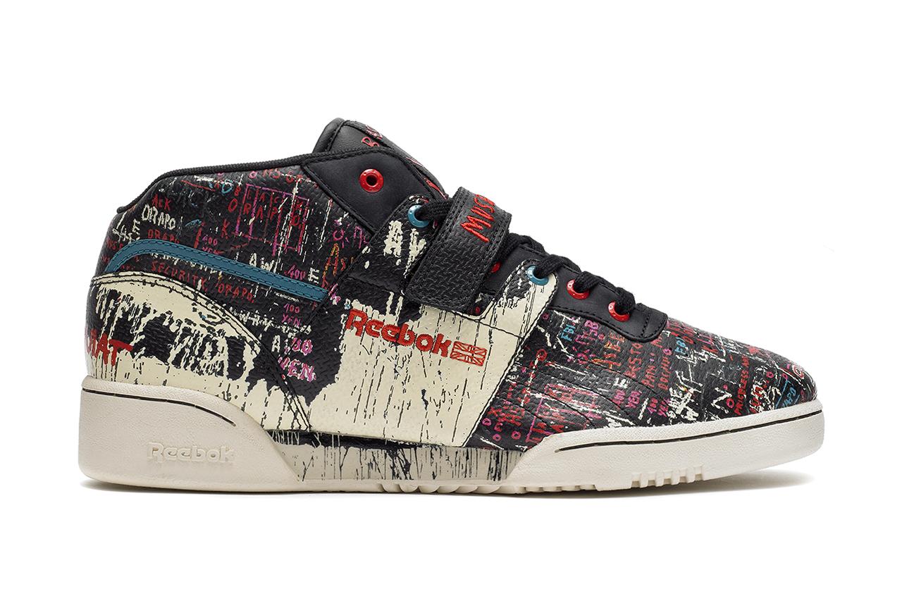 Jean-Michel Basquiat x Reebok 2013 Fall/Winter Collection