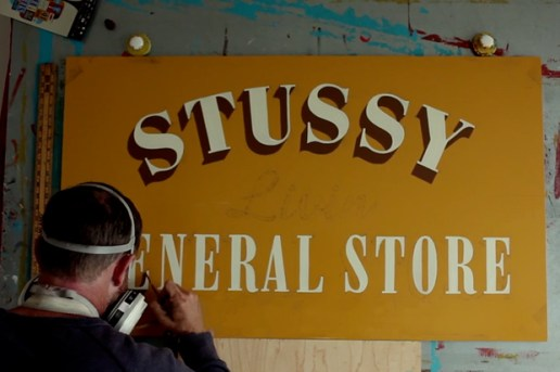 Jeff Canham On Painting Signs for Stussy Livin' General Store