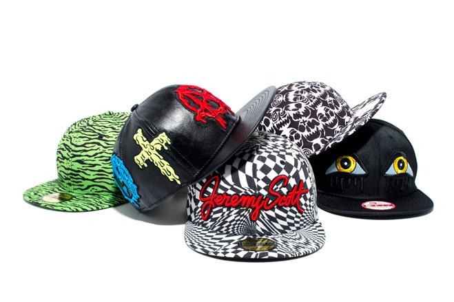 jeremy scott x new era 2013 fallwinter headwear collection