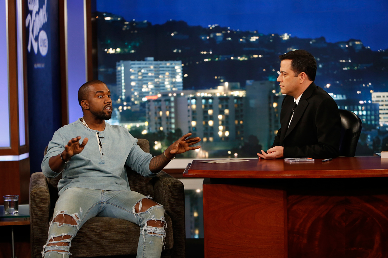 Jimmy Kimmel Live: Kanye West Interview | Video