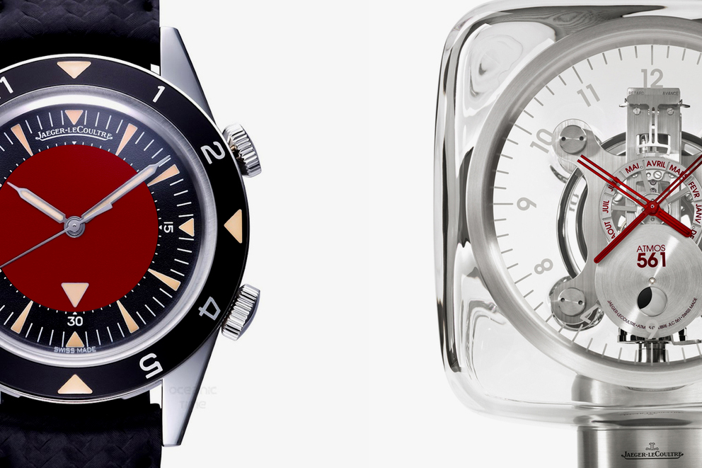 jony ive and marc newson customize jaeger lecoultre and atmos watches for sothebys auction