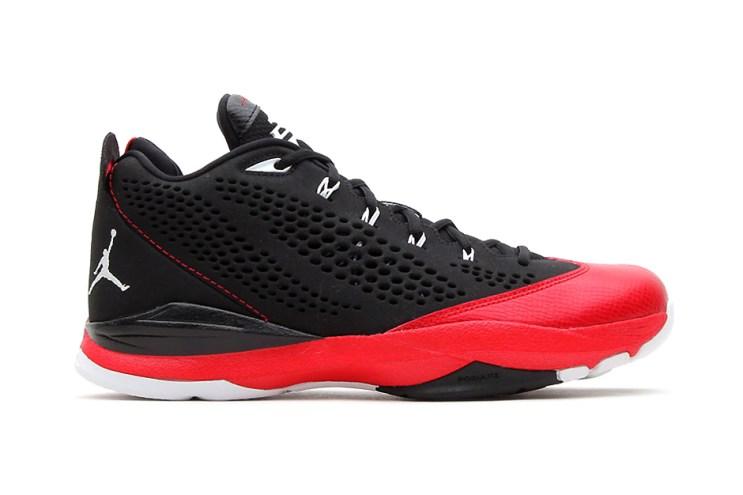 Jordan CP3.VII Black/White-Gym Red