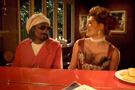 "Kate Upton & Snoop Dogg Star in Hot Pockets ""You Got What I Eat"" Commercial"