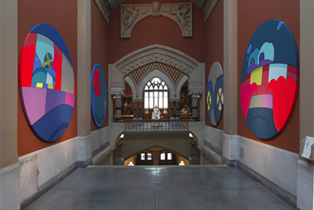 KAWS Exhibition @ PAFA