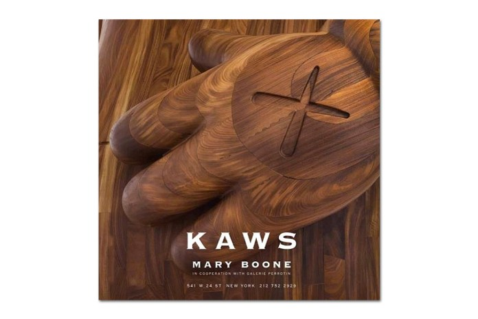 KAWS @ Mary Boone Gallery