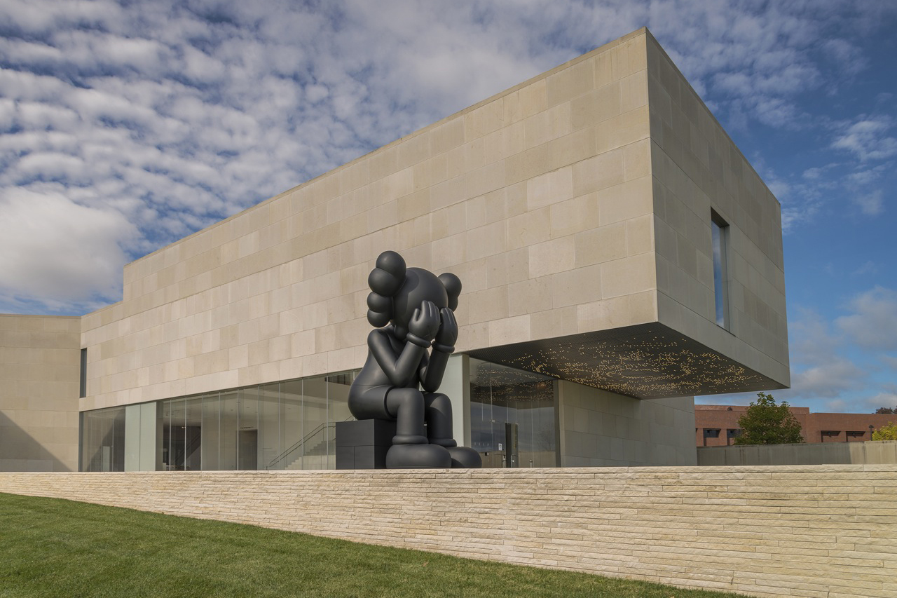 """KAWS """"UPS AND DOWNS"""" @ The Nerman Museum of Contemporary Art Preview"""