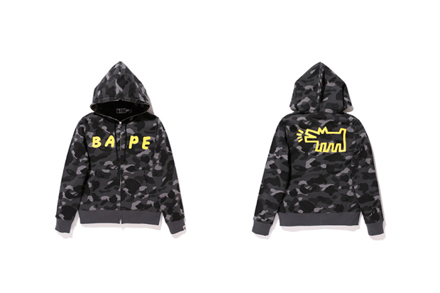 Keith Haring x A Bathing Ape 2013 Capsule Collection