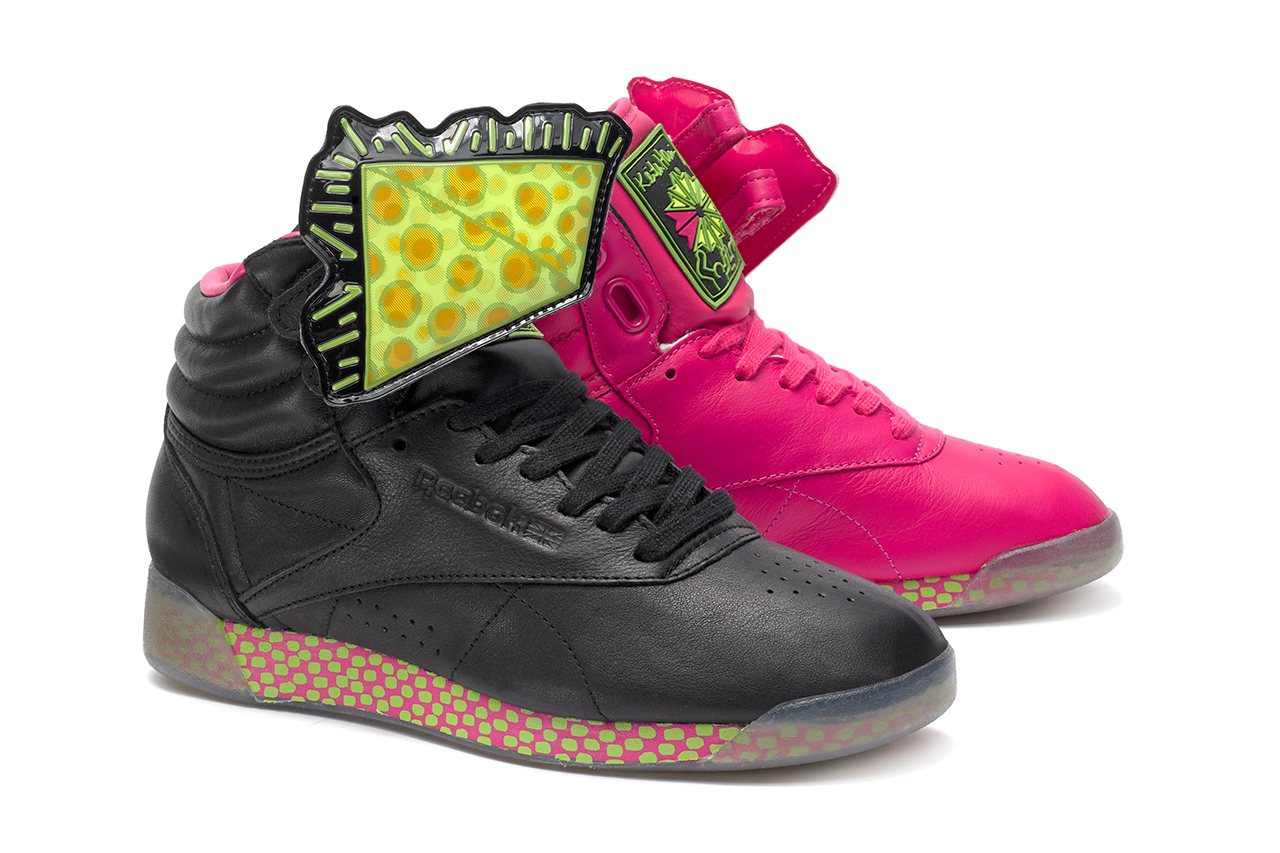 keith haring x reebok 2013 fallwinter collection