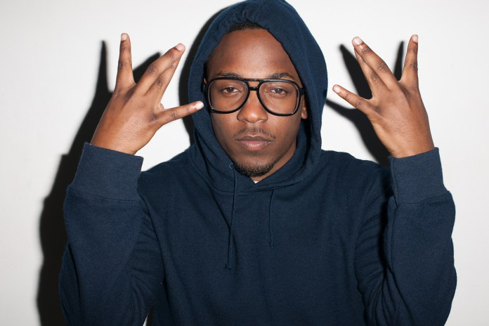 Kendrick Lamar Visits Terry Richardson's Studio