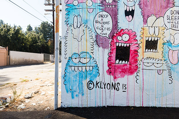 "Kevin Lyons ""Shits & Giggles"" @ HVW8 Art + Design Gallery"