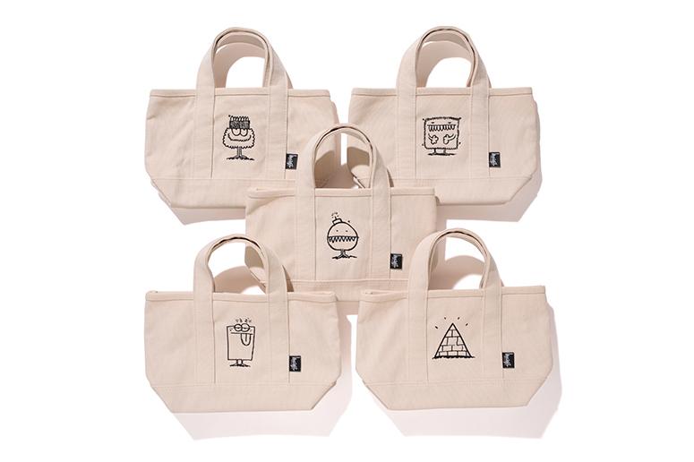 Kevin Lyons x Stussy x CRANK TOKYO 2013 Fall Tote Bag
