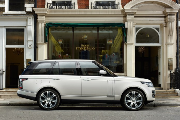 Land Rover Announces Long Wheelbase Range Rover