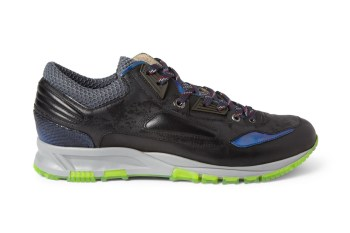 Lanvin 2013 Fall/Winter Metallic Leather and Mesh Sneakers
