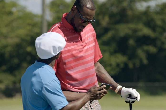 """LeBron James Stars in Samsung's """"Always On"""" Commercial"""