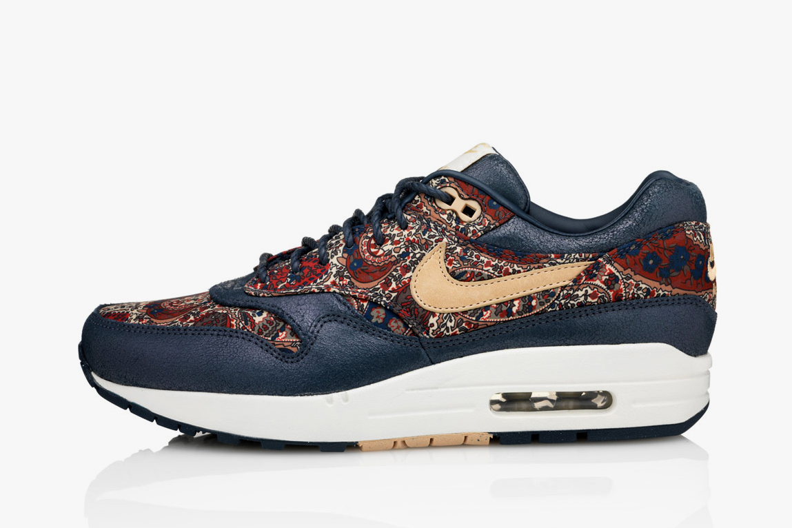 liberty x nike 2013 fall winter air max 1 bourton. Black Bedroom Furniture Sets. Home Design Ideas