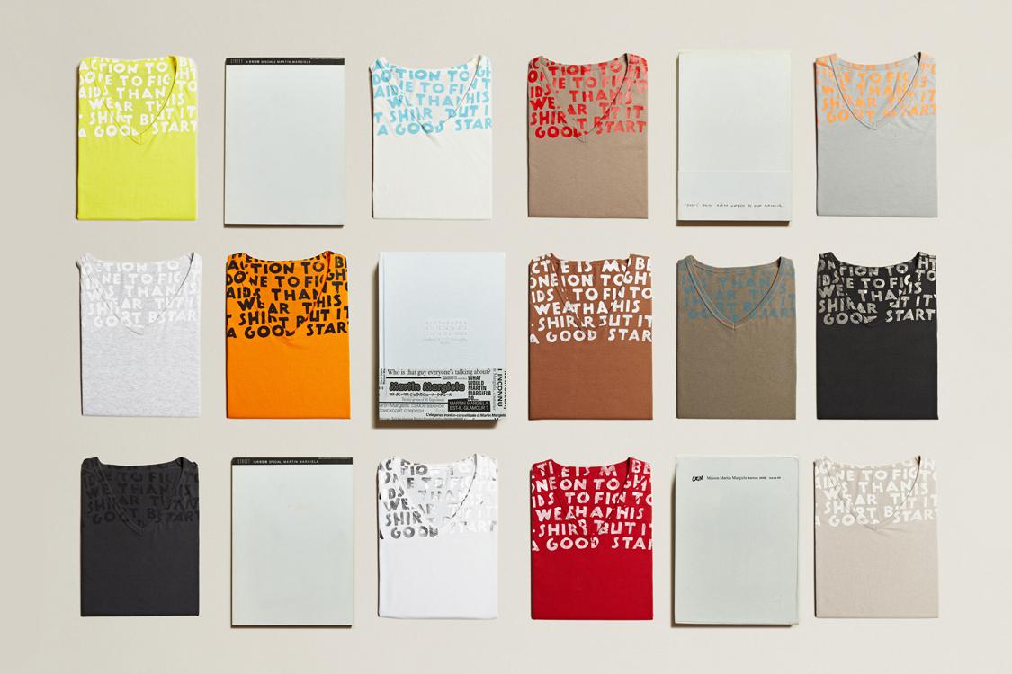 LN-CC Presents the Maison Martin Margiela AIDS Awareness Retrospective Archive