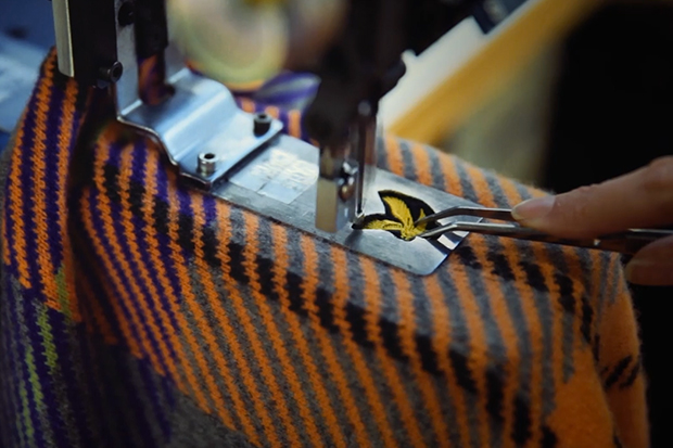 Lyle & Scott Team Up with Central Saint Martins for Wool Week 2013