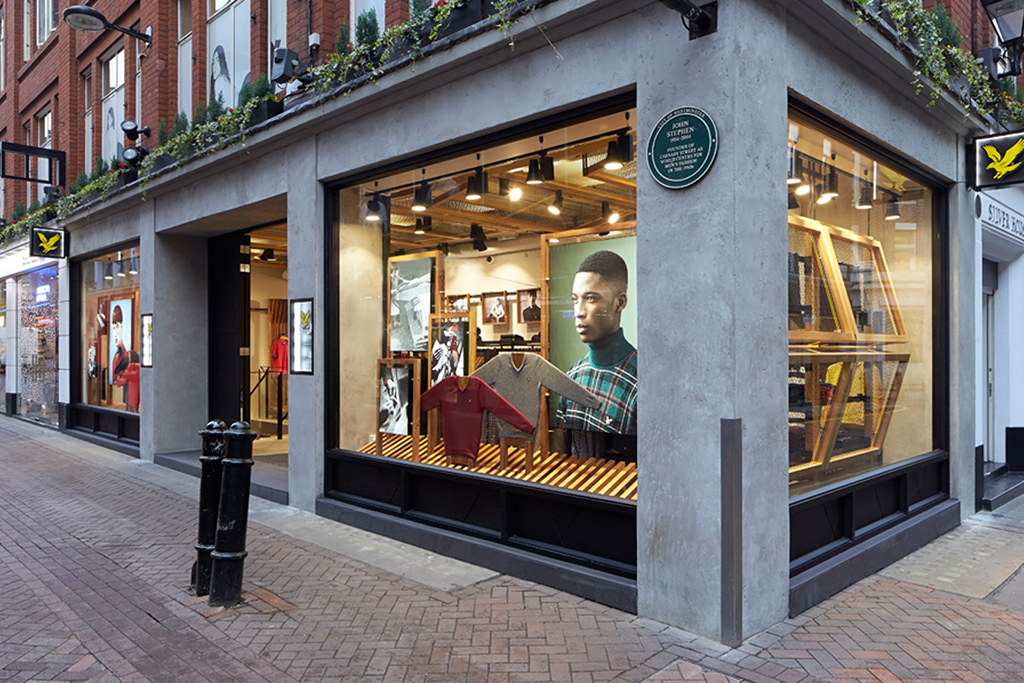 lyle scott opens new carnaby street flagship store