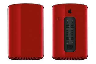 Mac Pro Gets (RED) Makeover for Sotheby's Auction