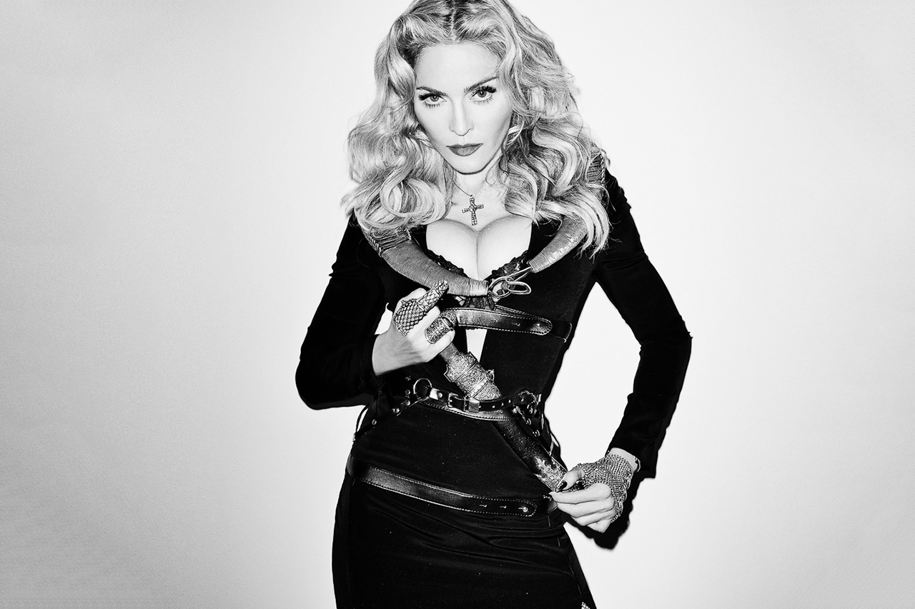 Madonna Visits Terry Richardson's Studio