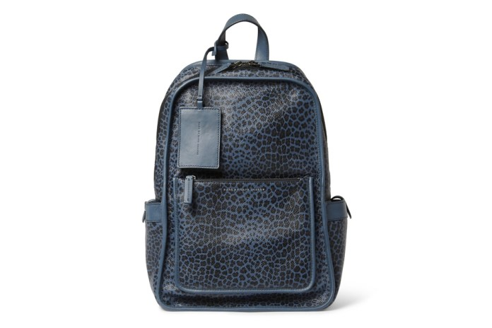 Marc by Marc Jacobs Leopard-Print Leather Backpack