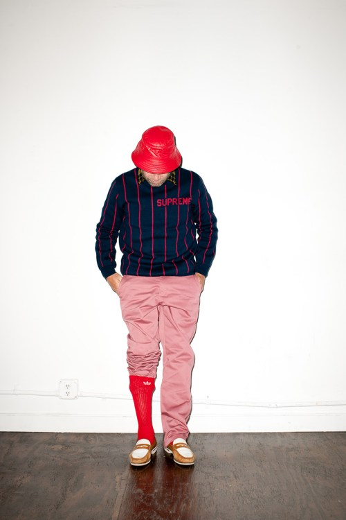 Mark Gonzales for Supreme 2013 Fall/Winter Editorial by Terry Richardson