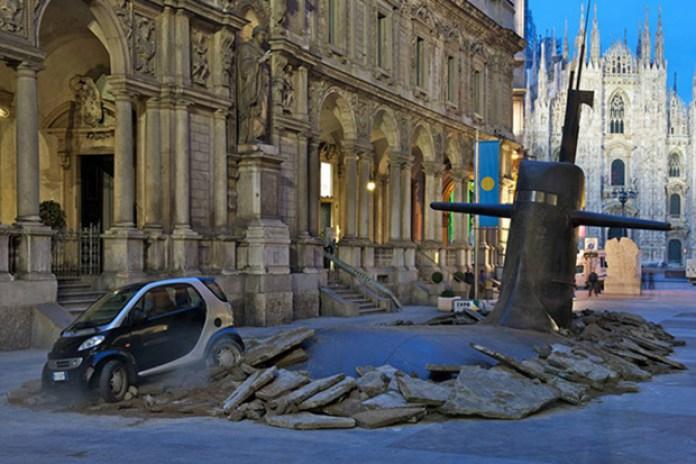 Europ Assitance IT x M&C Saatchi Submarine Crash in Milan