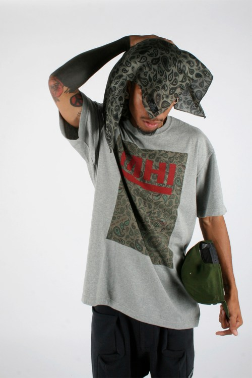 """MellowHype x MHI by maharishi 2013 """"DPM:MH Paisley"""" Capsule Collection"""