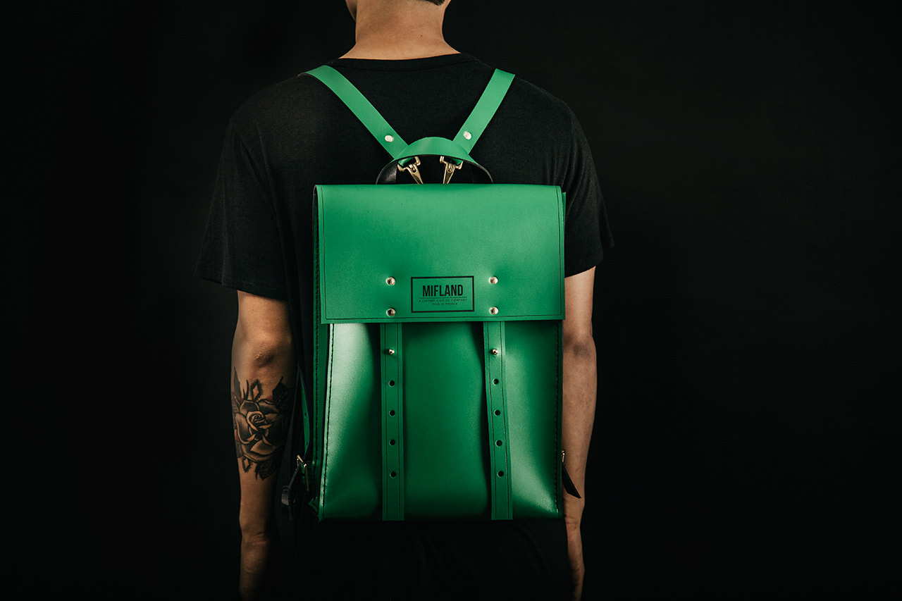 mifland leather goods 2013 fallwinter collection